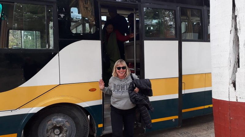 Pokhara to Kathmandu by Greenline Bus