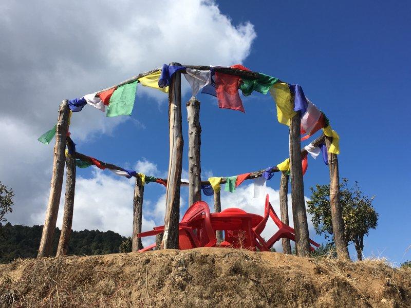 Prakriti Resort Himalaya viewpoint