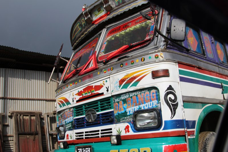 Road Kathmandu to Pokhara