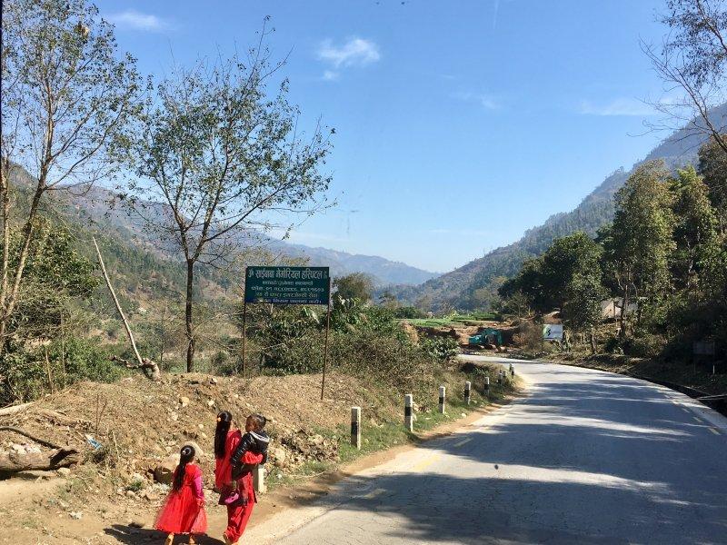 Roadside view, Pokhara to Kathmandu