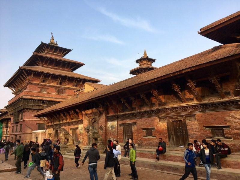 Taleju Temple and Royal Palace, Patan Durbar Square
