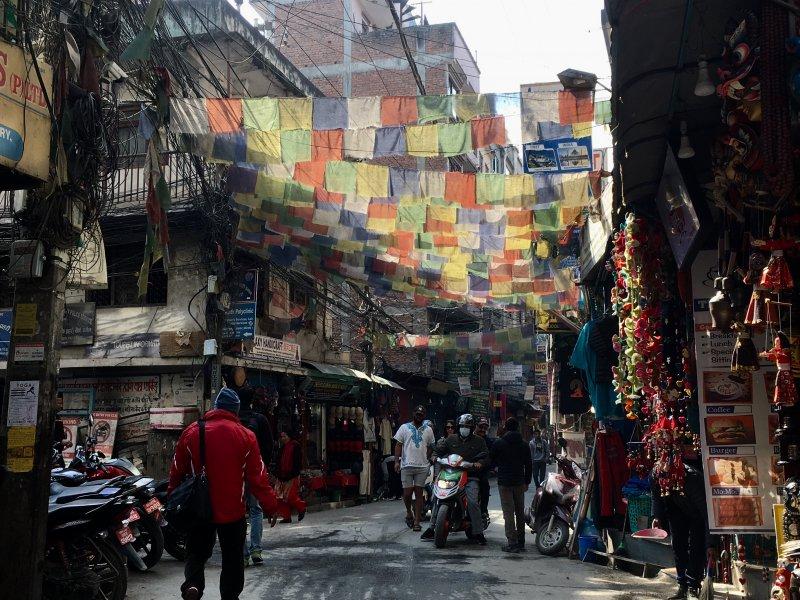 Thamel main street, Kathmandu