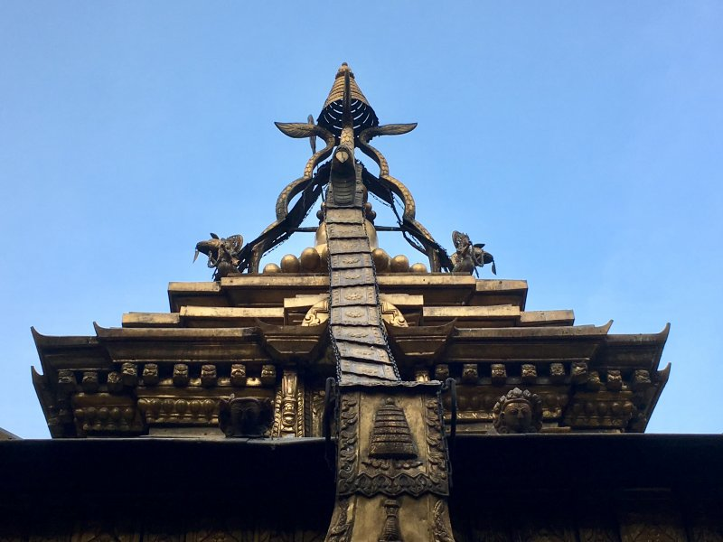 The Golden Temple of Patan, Nepal