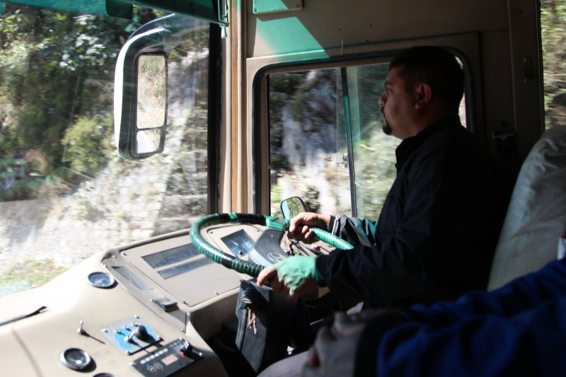 Traveling by land: Greenline Bus, Nepal