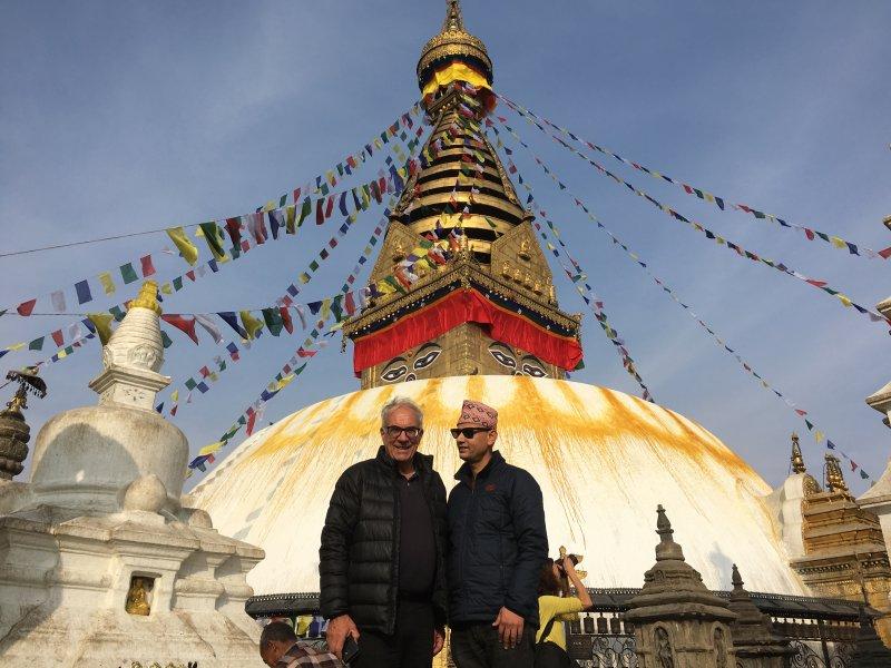 Temples around Kathmandu: Swayambbunath, the Monkey Temple