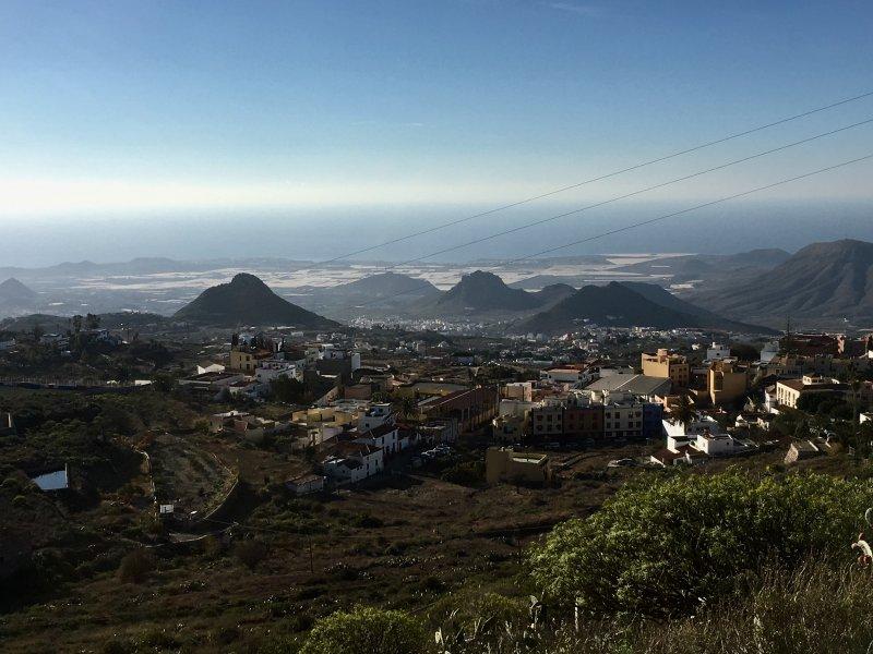 Coastal view from Arona, Tenerife