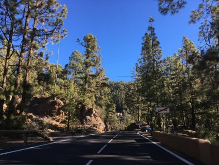 Drive from Tenerife Sur to el Teide