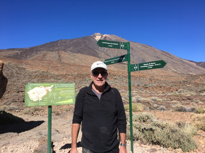 Hiking in Mount Teide National Park