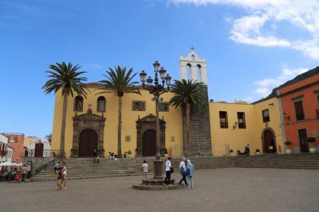 La iglesia de Garachico, Tenerife
