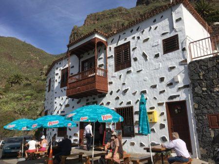 Masca cafe, Tenerife