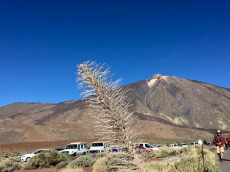 Mount Teide car park