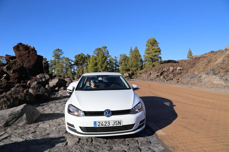 Mount Teide by car