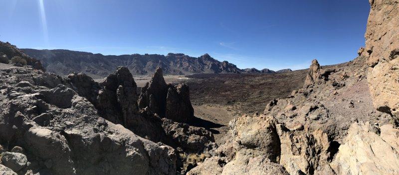 Las Canadas crater, 2000 m above sea level