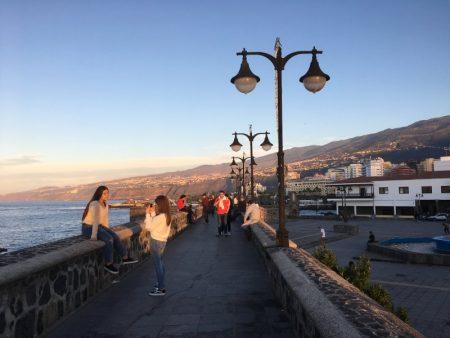 Puerto de la Cruz harbor