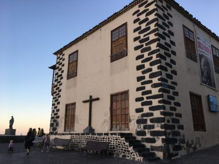 Puerto de la Cruz harbor church