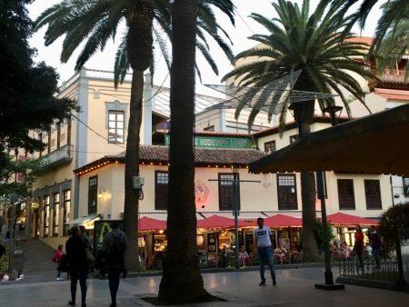 Puerto de la Cruz pedestrian area