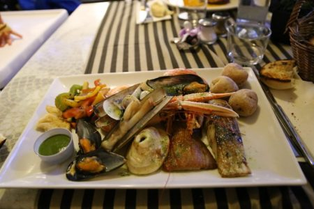 Puerto de la Cruz restaurant, Tenerife