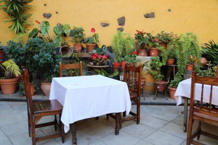 Restaurant interior, La Orotava