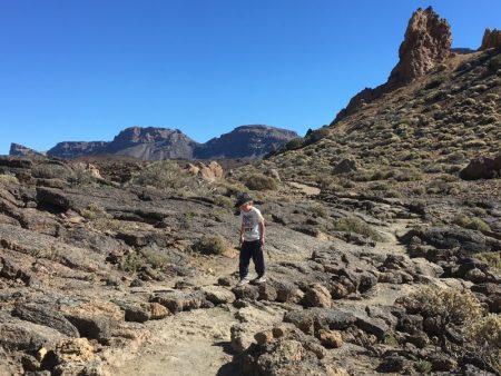 Roques de Garcia family hike, El Teide