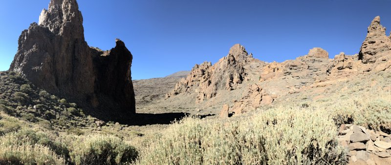 Roques de Garcia short hike, Tenerife