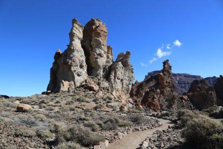 Roques de Garcia trail, La Catedral