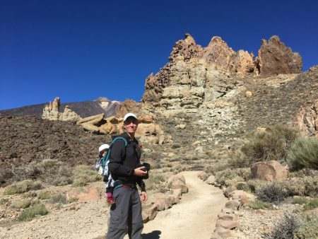 Roques de Garcia walking path, Mount Teide National Park