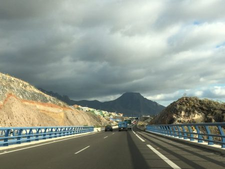Tenerife South motorway