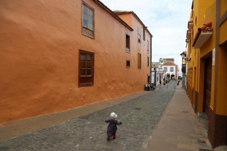 Walking in Garachico, Tenerife