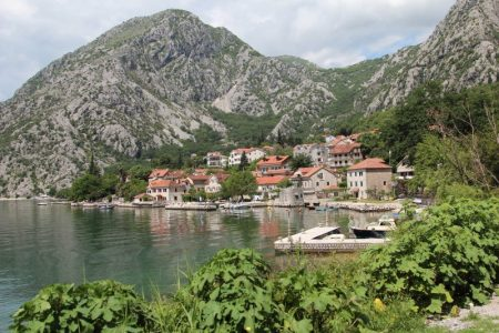 A Bay of Kotor village