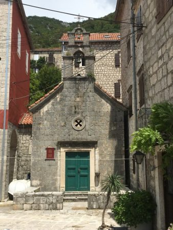 A little chapel in Perast, Montenegro