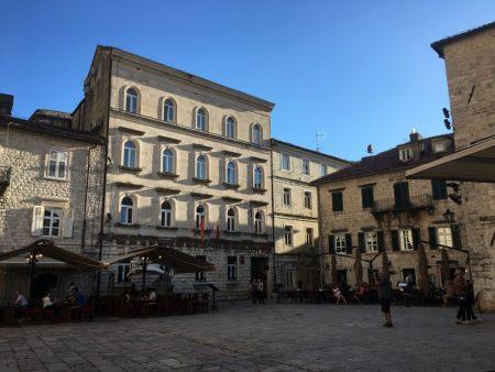 Kotor Old Town square, Montenegro