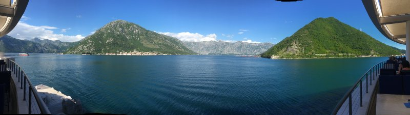 The Bay of Kotor from Verige 65
