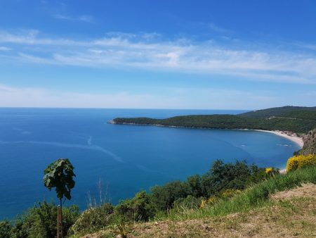 Adrian coastline from Kotor to Budva