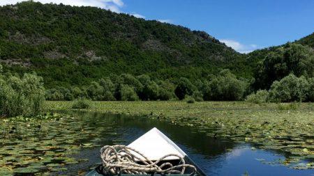 Boat trip in Lake Skadar National Park