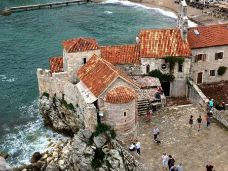 Budva old town and fortress