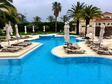 Hotel Splendid's pool area, Budva