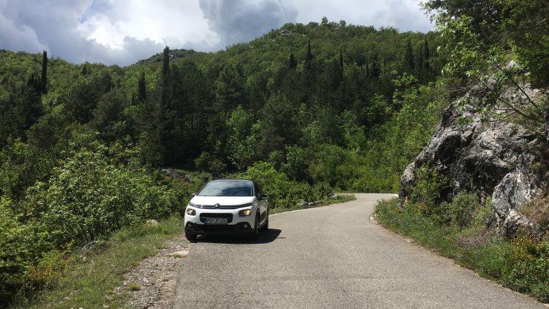 Road to Rijeka Crnojevica, Lake Skadar National Park