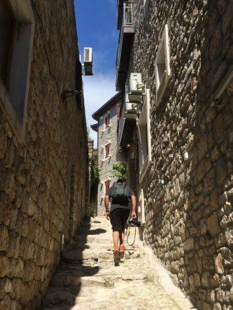Stairs of Ulcinj old town
