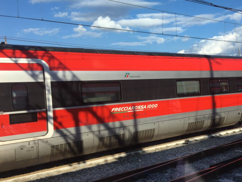 Frecciarossa from Rome to Florence