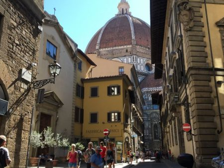 Italy by train and car: Florence