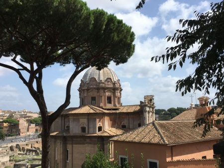 Italy by train and car: Rome from Capitol Hill