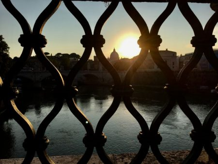 View to river Tiber, Rome