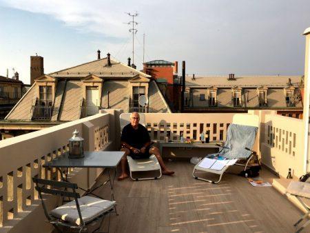 Altana Bologna roof terrace