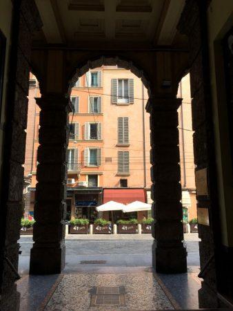 Arches of Bologna Strada Maggiore