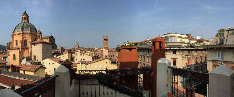 Bologna centro storico from our roof terrace