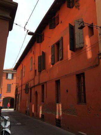 Bologna centro storico lane
