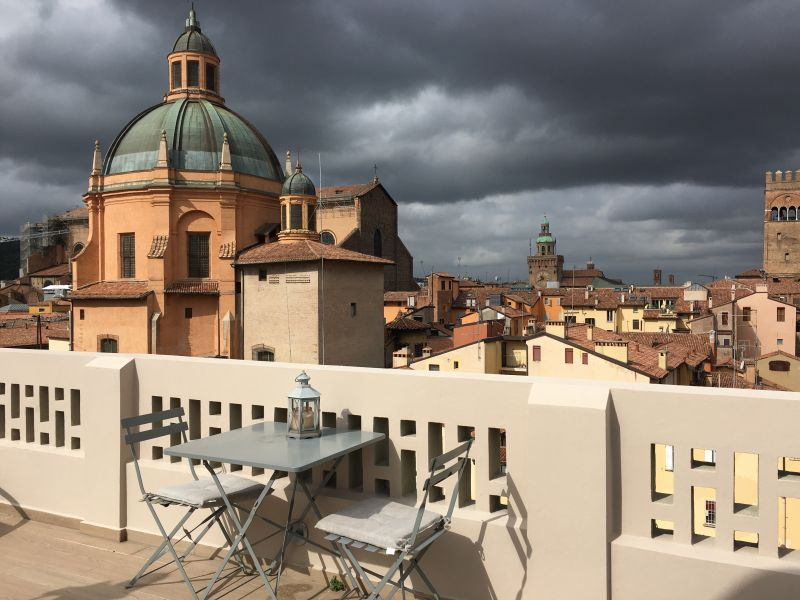 Bologna from roof terrace