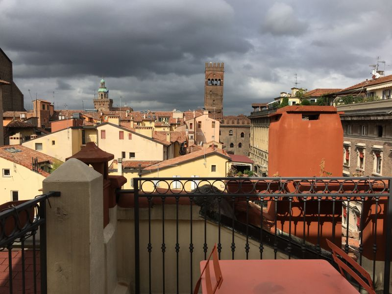 City view from Bologna roof top