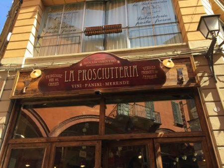 La Prosciutteria, Bologna