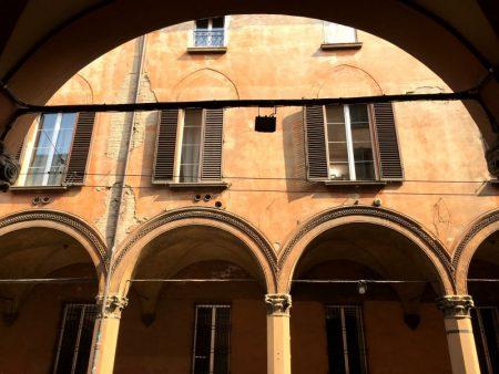 Strada Maggiore arches, Bologna